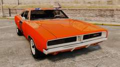 Dodge Charger 1969 General Lee v2.0 HD Vinyl for GTA 4