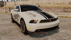 Ford Mustang 2012 Boss 302 Fiery Horse