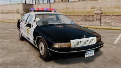 Chevrolet Caprice Police 1991 v2.0 LCPD for GTA 4