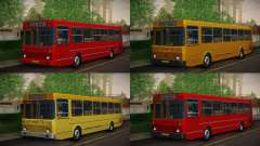 LIAZ 5256.00 skin Pack 6 for GTA San Andreas