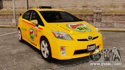 Toyota Prius 2011 Warsaw Taxi v1 for GTA 4