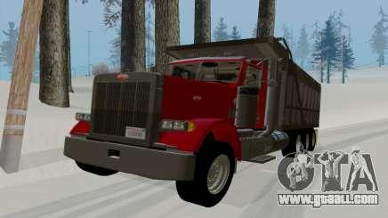 Peterbilt 379 Dump Truck for GTA San Andreas