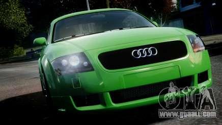 Audi TT Coupe 3.2 Quattro 2004 for GTA 4