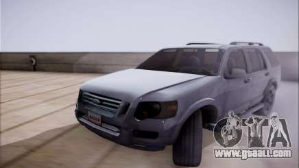 Ford Explorer Eddie Bauer 2011 for GTA San Andreas