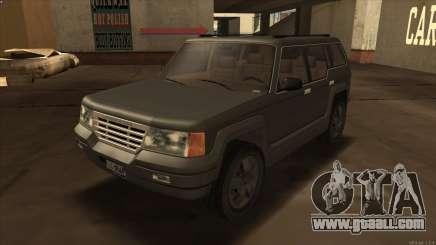 Landstalker HD from GTA 3 for GTA San Andreas