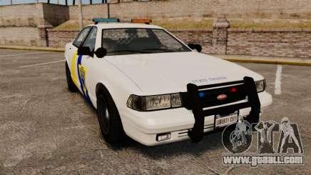 GTA V Police Vapid Cruiser Alderney state for GTA 4