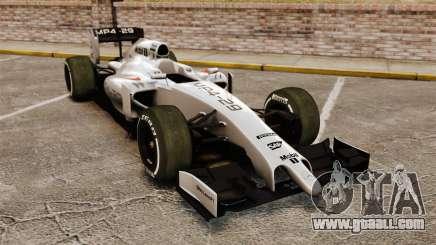 McLaren MP4-29 for GTA 4