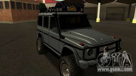 Mercedes Benz G500 Offroad for GTA San Andreas