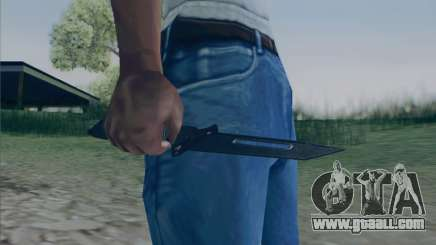 Battlefield 2142 Knife for GTA San Andreas
