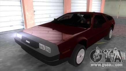 Delorean DMC for GTA Vice City
