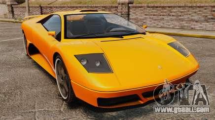 GTA V Infernus Pegassi for GTA 4