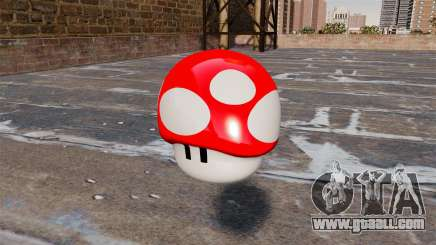 Pomegranate mushroom Mario for GTA 4