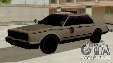 North Yanton Police Esperanto from GTA 5 for GTA San Andreas