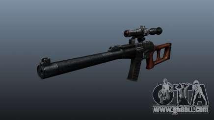 VSS Vintorez sniper rifle for GTA 4