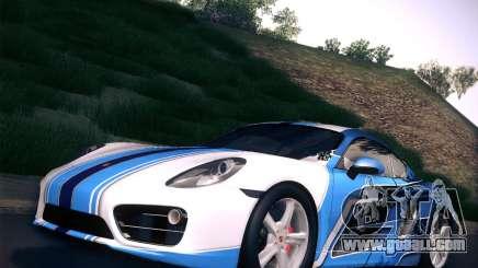 Porsche Cayman S 2014 for GTA San Andreas