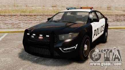 GTA V Vapid Police Interceptor for GTA 4