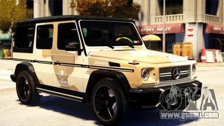 Mercedes-Benz G65 AMG 2013 for GTA 4