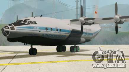 The an-12 Aeroflot for GTA San Andreas