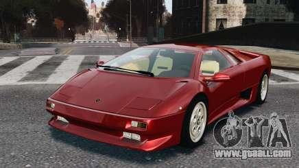 Lamborghini Diablo VT 1994 for GTA 4