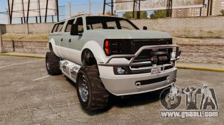 GTA V Vapid Sandking XL 4500 for GTA 4
