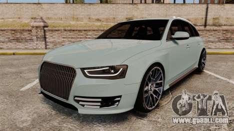 Audi RS4 Avant for GTA 4
