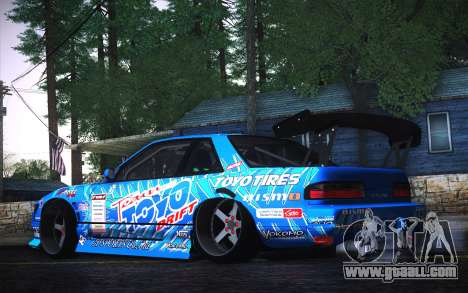 Nissan Silvia S13 Toyo for GTA San Andreas left view