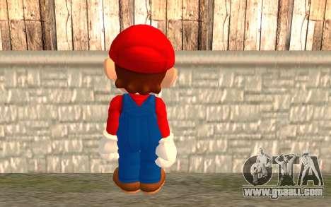 Mario for GTA San Andreas second screenshot