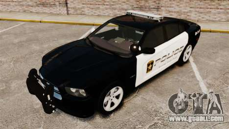 Dodge Charger RT 2012 Police [ELS] for GTA 4 side view