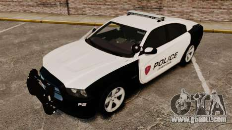 Dodge Charger RT 2012 Police [ELS] for GTA 4 upper view