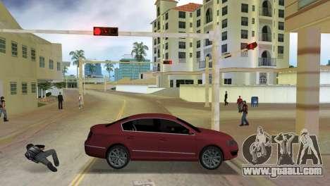 Volkswagen Passat 2007 for GTA Vice City left view