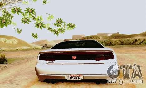 Buffalo from GTA V for GTA San Andreas interior