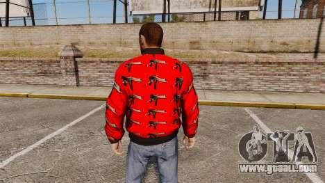 Windbreaker-Uzi- for GTA 4 second screenshot