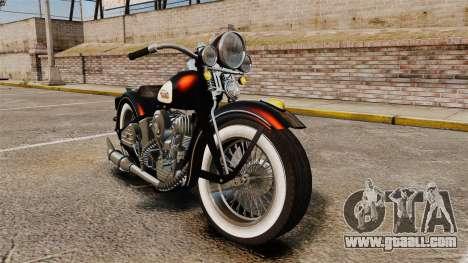 Harley-Davidson Knucklehead 1947 for GTA 4