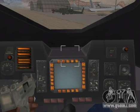StarGate F-302 for GTA San Andreas bottom view