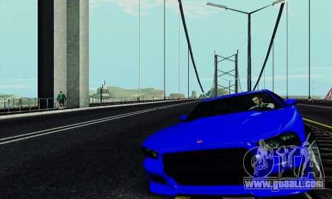 Buffalo from GTA V for GTA San Andreas inner view