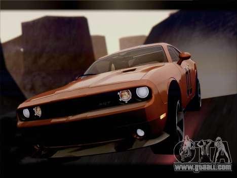 Dodge Challenger SRT8 2012 HEMI for GTA San Andreas wheels
