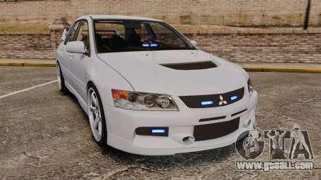 Mitsubishi Lancer Unmarked Police [ELS] for GTA 4