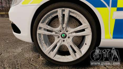 Skoda Octavia Scout RS Metropolitan Police [ELS] for GTA 4 back view