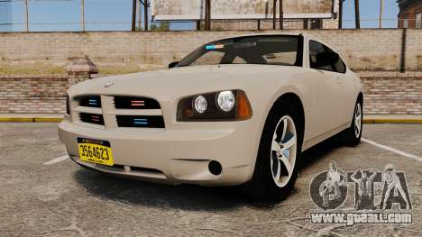 Dodge Charger Unmarked Police [ELS] for GTA 4
