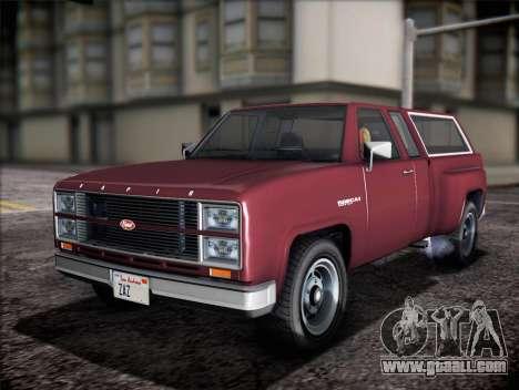 Vapid Bobcat XL from GTA V for GTA San Andreas