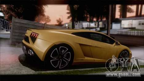 Lamborghini Gallardo LP560-4 Coupe 2013 V1.0 for GTA San Andreas left view
