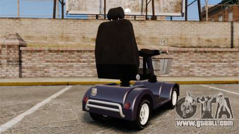 Funny Electro Scooter for GTA 4 back left view