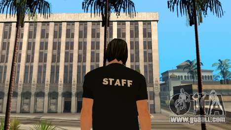 High-Quality Skin STAFF for GTA San Andreas second screenshot