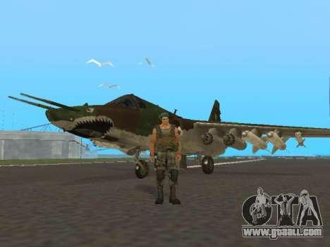 Su 25 for GTA San Andreas left view