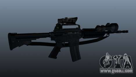 Automatic carbine M4A1 for GTA 4 third screenshot