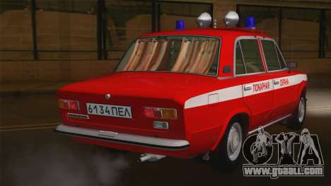 VAZ 21011 fire protection for GTA San Andreas back left view