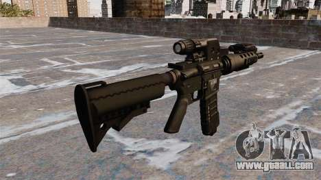 Automatic M4 tactical carbine for GTA 4 second screenshot