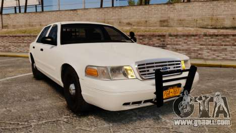Ford Crown Victoria 1999 Unmarked Police for GTA 4