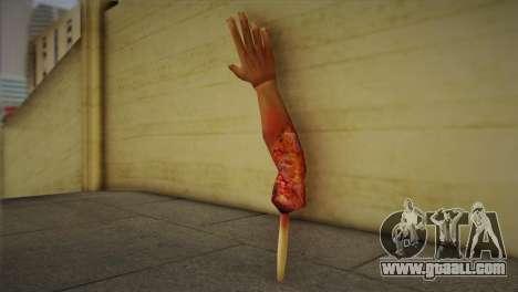 Zomie Hand for GTA San Andreas second screenshot