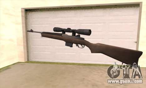 Sniper rifle from Left 4 Dead 2 for GTA San Andreas second screenshot